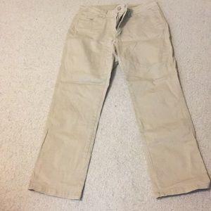 Lee khaki pants